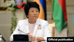 Экс-президент Кыргызстана Роза Отунбаева.
