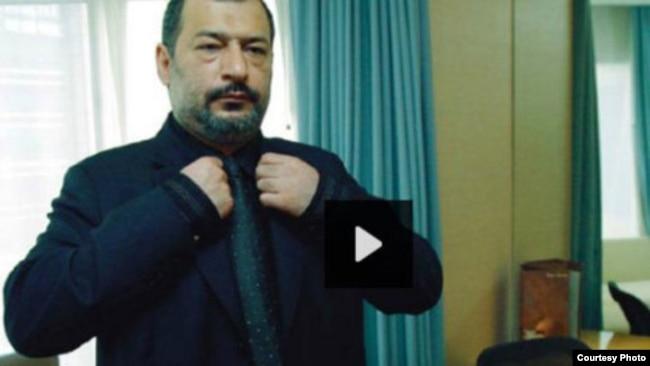تصویری از فیلم پخش شده از محمدرضا مدحی در تلویزیون ایران
