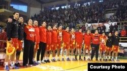 Ракометна репрезентација на Mакедонија.