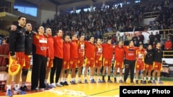 Македонската ракометна репрезентација.