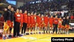 Македонската машка ракометна репрезентација.