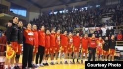 Архивска фотографија: Македонската ракометна репрезентација.