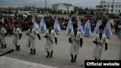 В Нартане празднуют День России (фото с сайта районной администрации)