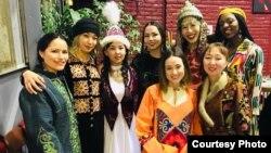На мероприятии в честь праздника Нооруз, организованного KyrgyzClub France.