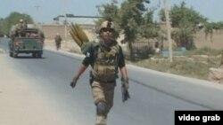 Афганский военный в Кундузе, 3 октября 2016