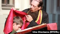 Молебен в День ВДВ