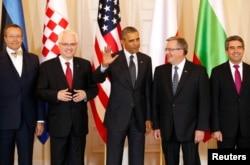 Встреча Барака Обамы с лидерами стран Центральной и Восточной Европы в Варшаве