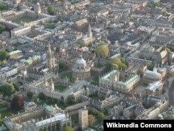 Оксфорд университетінің қалашығы. Мұнда осы оқу орнының көптеген колледждері орналасқан. (Көрнекі сурет)