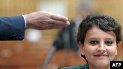 Министр по правам женщин Франции Нажат Валло-Белкасем.