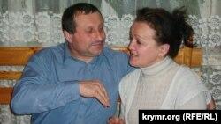 Микола Семена з дружиною Людмилою, січень 2003 року