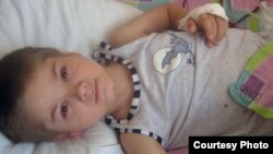The parents of 3-year-old Volodymyr Lekhno are appealing for help after the ruble collapsed and they could no longer afford his kidney transplant at a special clinic in Belarus.