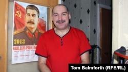 Miner Konstantin Rimenov, an unabashed Stalinist, has worked in the mines around Vorkuta for 27 years.