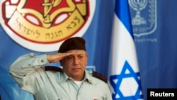 Israeli Chief of Staff Lieutenant-General Gadi Eizenkot