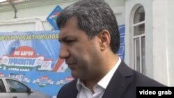 The leader of the Islamic Renaissance Party of Tajikistan, Muhiddin Kabiri, says moves by the Dushanbe authorities against his group are politically motivated. (file photo)