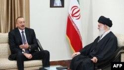 Իրանի գերագույն հոգևոր առաջնորդի և Ադրբեջանի նախագահի հանդիպումը Թեհրանում, 5-ը մարտի, 2017թ․