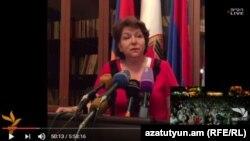 Հերմինե Նաղդալյանի ասուլիսը ՀՀԿ գործադիր մարմնի նիստից հետո, 28-ը հուլիսի, 2016թ.