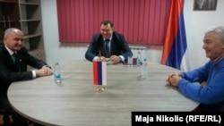 Trojica stranačkih lidera na sastanku u Zvorniku