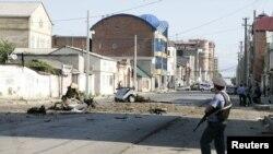 ДегIаста -- Полисхо бомба иккхинчу меттехь гIарол деш ву, ХIинж-гIала, 22-09-2011
