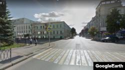 На этом перекрестке водитель автобуса насмерть сбил 18-летнюю Екатерину Титову