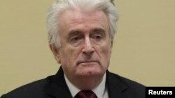 Радован Караджич по време на съдебното заседание на 20 март 2019 г.