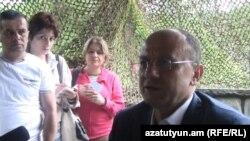 Պաշտպանության նախարար Սեյրան Օհանյանի հանդիպումը լրագրողների հետ, Տավուշի մարզ, 7-ը հունիսի, 2013թ.