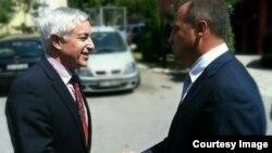 Ministri i jashtëm i Kosovës është takuar sot me shefin e misionit të OSBE-së në Kosovo, Jean Claude Schlumberger