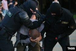 Акции протеста после объявления результатов выборов президента Белоруссии