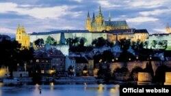 Прага, вид на Пражский град