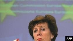 Еврокомиссар по антимонопольному законодательству Нели Крус
