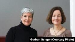 Брита Зембах і Сузанне Гарсовкі, котрі написали книгу під назвою: «Брехня, що всього можна досягти»