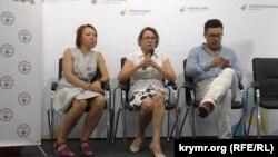 Прес-конференція про проблеми кримської медицини, Київ, 13 серпня 2015 року