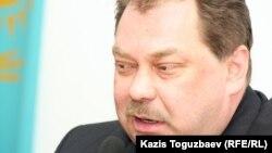 """Михаил Сизов, """"Алға"""" партиясын құру бойынша бастама комитеттің бұрынғы төрағасы. Алматы, 22 қаңтар 2013 жыл"""
