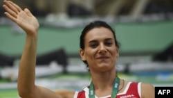 Елена Исинбаева, ресейлік атлет.