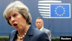 Britaniyanın baş naziri Theresa May