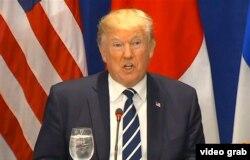 Дональд Трамп объявляет о введении новых санкций в отношении Северной Кореи