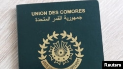 Photo of Comoros passport