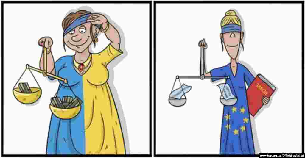 In 2012 only 3 percent of Ukrainians said they trust the courts. Ukraine is the fifth biggest justice seeker at the European Court of Human Rights, with 10,400 claims submitted by Ukrainians last year.