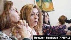 Председателят на СЕМ София Владимирова