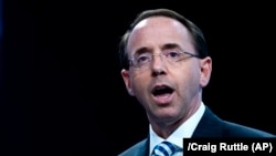 U.S. Deputy Attorney General Rod Rosenstein