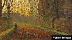 Джон Эткінсан Грымшаў, «Пад канец кастрычніка» (1882)