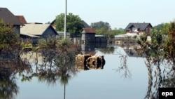 Pamje nga vërshimet në Orashje të Bosnjës
