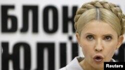 Jailed Ukrainian opposition leader Yulia Tymoshenko