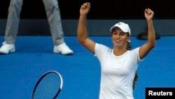 Казахстанская теннисистка Юлия Путинцева.