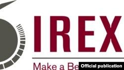 IREX ұйымының логотипі. (Көрнекі сурет).