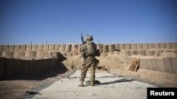 Ushtar amerikan në Afganistan.