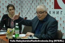 політолог Філіп де Лара та культуролог Ірина Рева