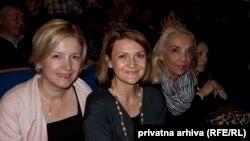 Sa lijeva na desno: Danka Savić, Ines Troha Brdar i Vera Mavrić