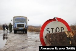 Передача Украине от ДНР 42 осужденных для дальнейшего отбывания наказания, декабрь 2018