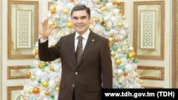 رئیس جمهور بردی محمدف در سال نو