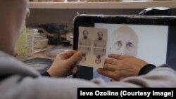 Увидев портрет отца, присланный Интерполом, Иева Озолиня не могла понять, он это или нет
